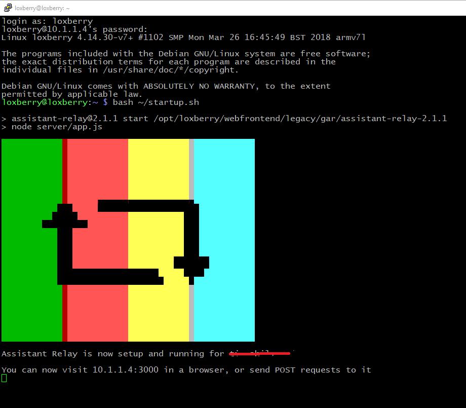 Node js server to link Miniserver to Google Home/Assistant