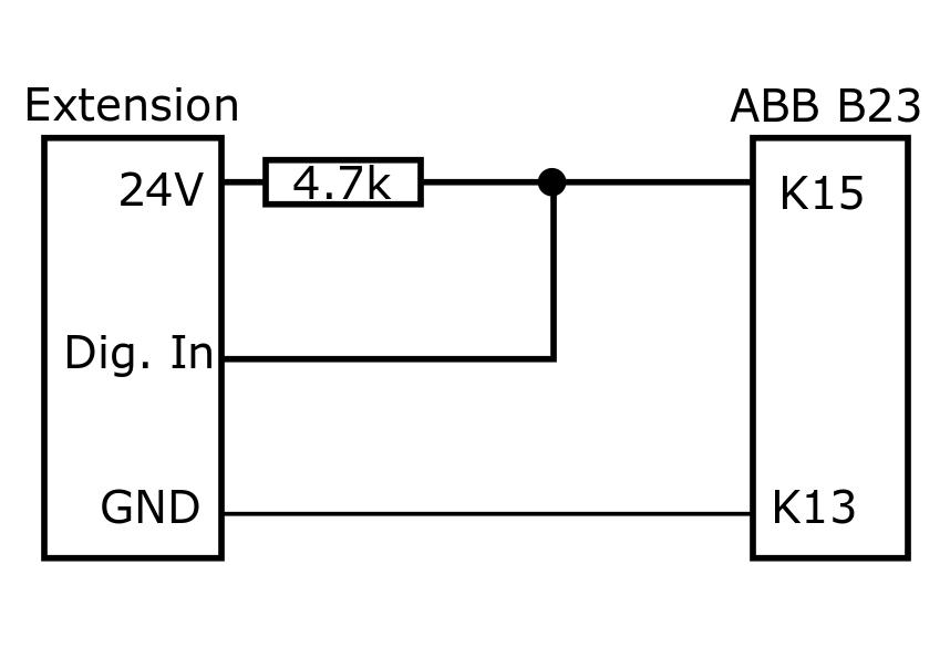 digitaler Drehstromzähler ABB B23 112-100 mit RS 485 Schnittstelle