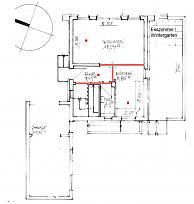 position pr senzmelder bei offener k che wohnzimmer. Black Bedroom Furniture Sets. Home Design Ideas
