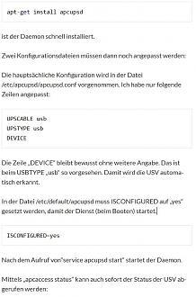 APC-UPS und LB 1 0 - loxforum com