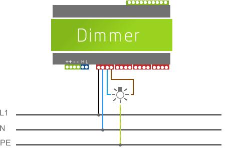Großzügig Dimmer Vorschaltgerät Schaltplan Galerie - Der Schaltplan ...