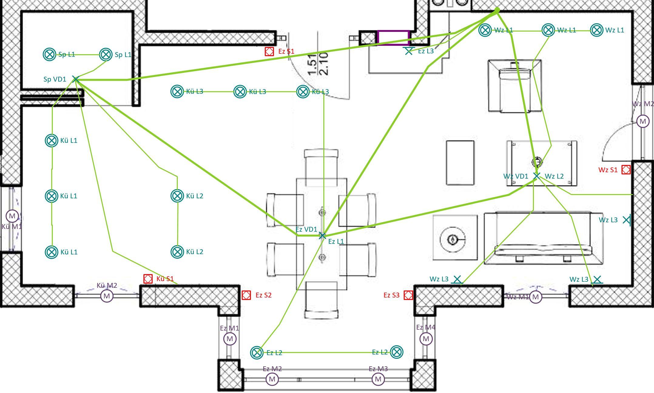Fantastisch Hausverkabelungsfarben Fotos - Elektrische Schaltplan ...