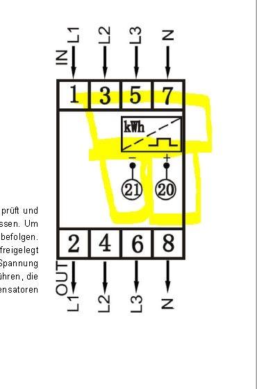 S0 Stromzähler B+G E-Tech DRT428DC anschliessen - loxforum.com